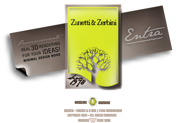 Zanetti e zerbini minimal design wood produzione mobili for Zanetti arredamenti